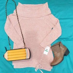 NWT Jessica Simpson Blush Sweater